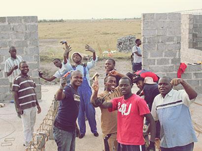 soziales Projekt in Kenia