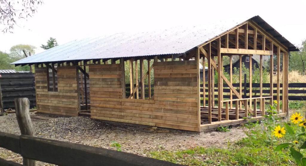 Rohbau Kinderzentrum