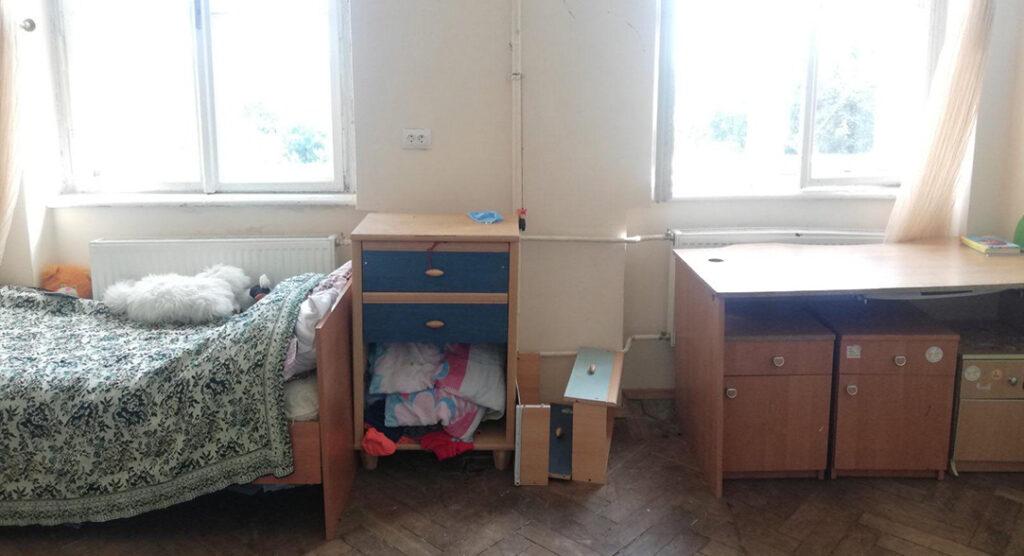 Altes Zimmer des Kinderheims
